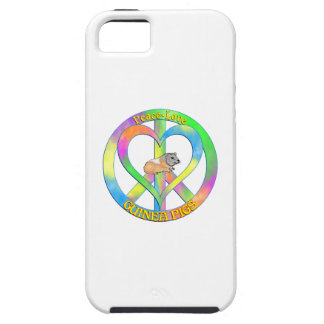 Peace Love Guinea Pigs Case For The iPhone 5