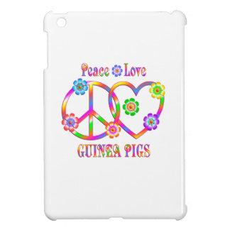 Peace Love Guinea Pigs iPad Mini Case