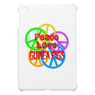 Peace Love Guinea Pigs iPad Mini Cover