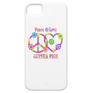 Peace Love Guinea Pigs iPhone 5 Case