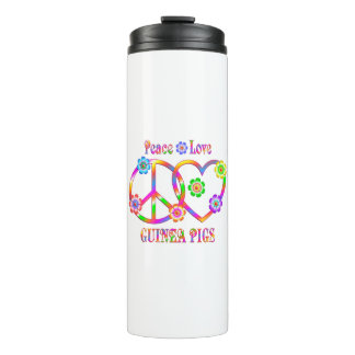 Peace Love Guinea Pigs Thermal Tumbler