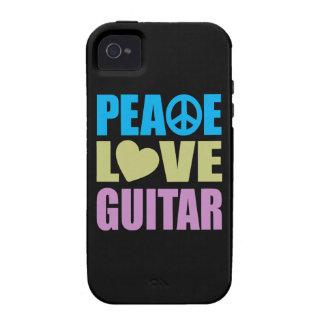 Peace Love Guitar Vibe iPhone 4 Case