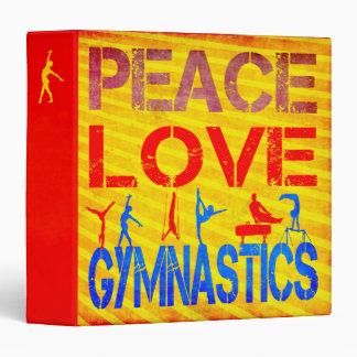 Peace Love Gymnastics Binders
