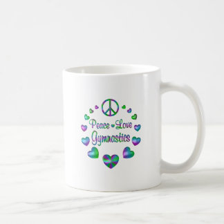 Peace Love Gymnastics Coffee Mug