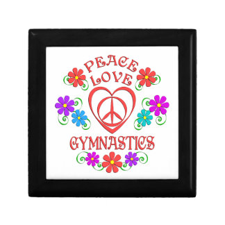 Peace Love Gymnastics Gift Box