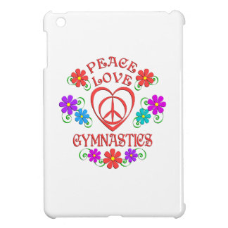 Peace Love Gymnastics iPad Mini Case