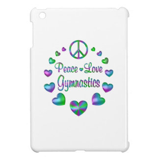 Peace Love Gymnastics iPad Mini Cases