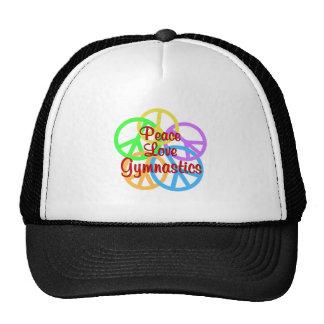 Peace Love Gymnastics Trucker Hat