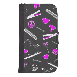 Peace, Love, & Hair Accessories Phone Wallet Cases