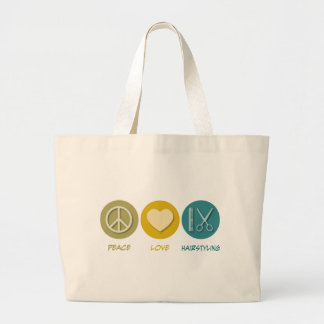 Peace Love Hairstyling Bag