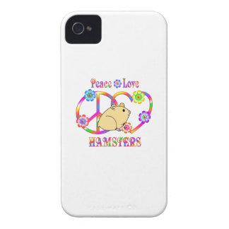 Peace Love Hamsters Case-Mate iPhone 4 Case