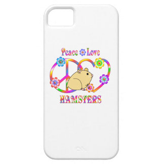 Peace Love Hamsters iPhone 5 Cases