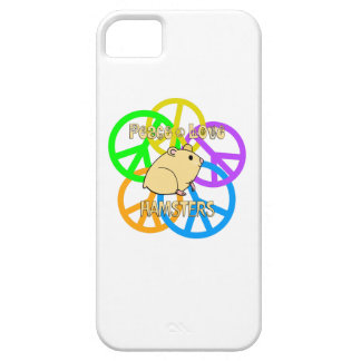 Peace Love Hamsters iPhone 5 Cover