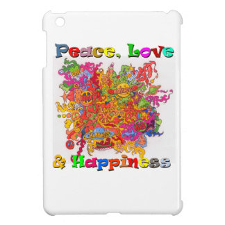 Peace, Love & Happiness Cover For The iPad Mini