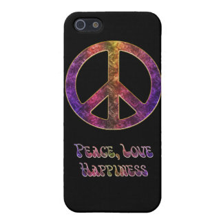 Peace Love Happiness  iPhone 5/5S Case