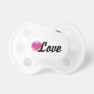 Peace Love Happiness Pacifier