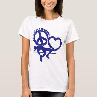 PEACE-LOVE-HIGH JUMP T-Shirt