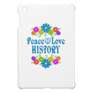 Peace Love History iPad Mini Case