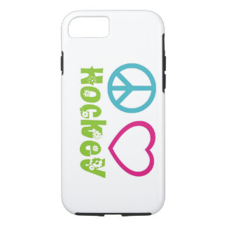 Peace Love Hockey iPhone 7 Case