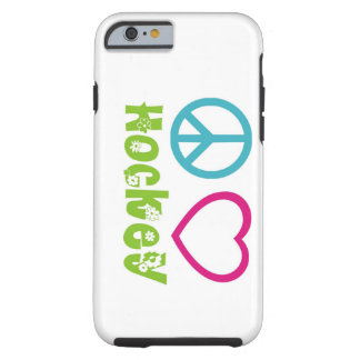 Peace Love Hockey Tough iPhone 6 Case