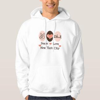 Peace Love  Hooded Sweatshirt