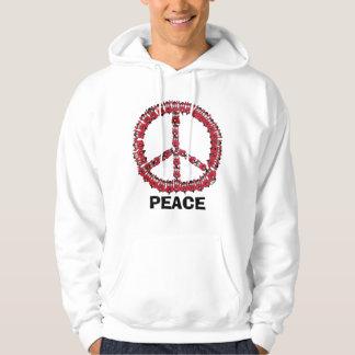 PEACE & LOVE hoodie