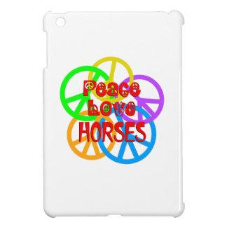 Peace Love Horses Case For The iPad Mini