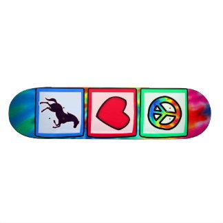 Peace, Love, Horses Custom Skate Board