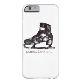Peace Love Ice Figure Skating Art by S Szczucki Barely There iPhone 6 Case