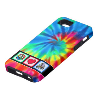 Peace, Love, Ice Skate iPhone 5 Cases