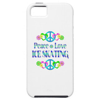 Peace Love Ice Skating iPhone 5/5S Case