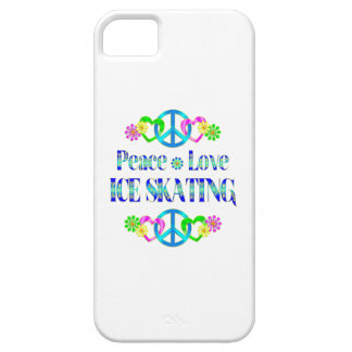 Peace Love Ice Skating iPhone 5 Cover