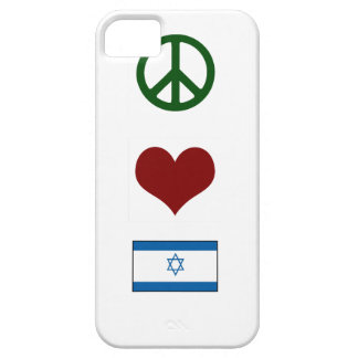 Peace Love Israel iPhone 5 Cases