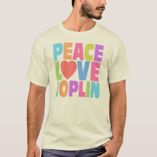 Peace Love Joplin T-Shirt