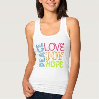 Peace, Love, Joy, and Hope Tank Top