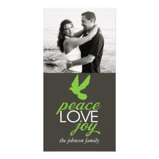 Peace Love Joy Card