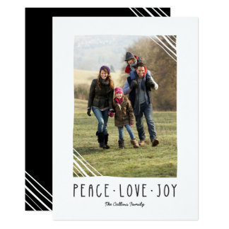 Peace, Love, Joy Christmas Card