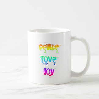 Peace Love Joy Coffee Mug