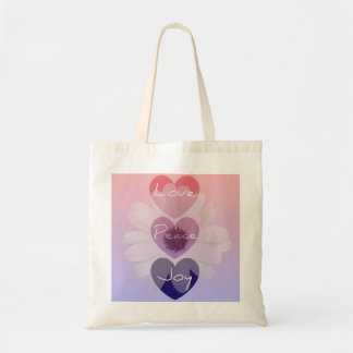 Peace, Love, Joy Flower Bag