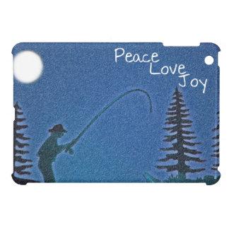 Peace, Love, Joy / Fly Fisherman in Snow iPad Mini Cases