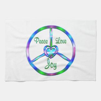 Peace Love Joy Kitchen Towel