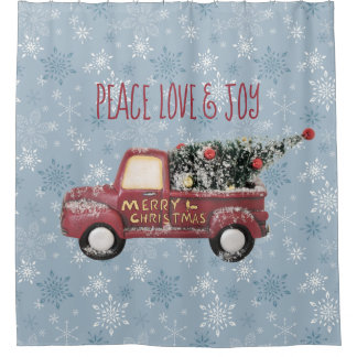 Peace Love & Joy Toy Truck Merry Christmas
