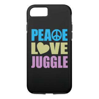 Peace Love Juggle iPhone 7 Case