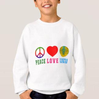 Peace Love Kazakhstan Sweatshirt