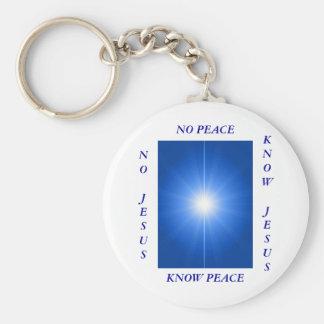 PEACE & LOVE KEYCHAIN