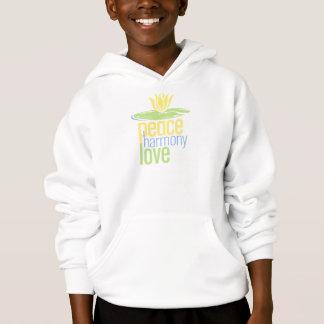 Peace Love Kids Hooded Sweatshirt