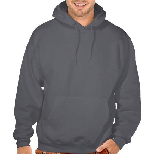 Peace Love Knit Hooded Sweatshirt