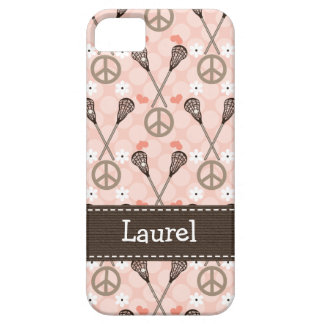 Peace Love Lacrossse iPhone 5 Cover