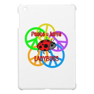 Peace Love Ladybugs Cover For The iPad Mini