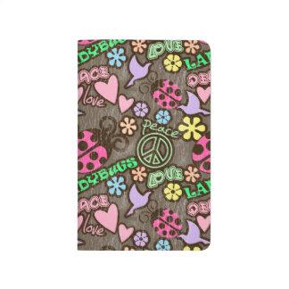 Peace, Love, Ladybugs Journal